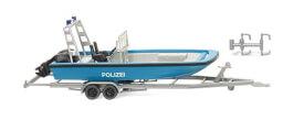 H0 Polizei - Mehrzweckboot MZB 72 (Lehmar)
