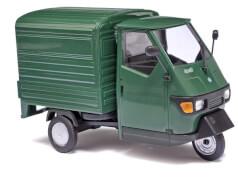 Piaggio m.Kofferaufbau Grün