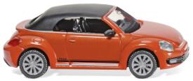 Wiking VW The Beetle Cabrio - habanero orange