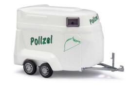 Pferdeanhänger Polizei