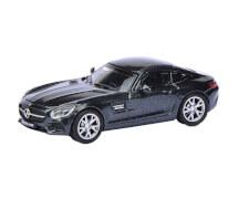 Schuco MB AMG GT S, schwarz 1:87