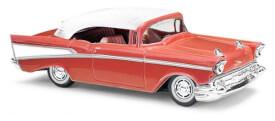 Chevrolet Bel Air Cabrio rot
