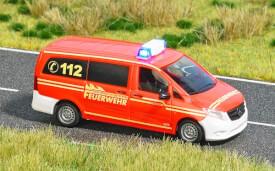 H0 Mercedes Vito Feuerwehr
