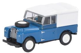 Land Rover 88 blau 1:87