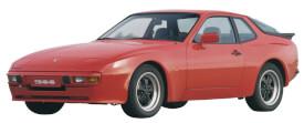 Schuco Porsche 944 rot 1:87