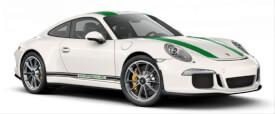 Schuco Porsche 911 R weiß/grün 1:87