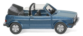 Wiking VW Golf I Cabrio - oceanic blue metallic