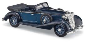 Horch 853 Cabrio offen, Blau
