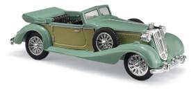 Horch 853 Cabrio offen, Grün