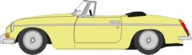 MGB Roadster gelb