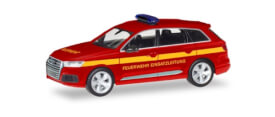 Audi Q7  Feuerwehr Einsatzleit