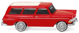 Opel Rekord '61 Caravan - rot
