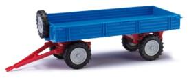 Anhänger T4 blau/roter Rahmen