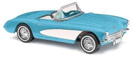 Corvette Cabrio blau