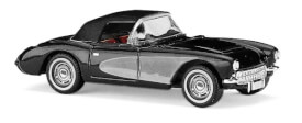 Corvette Cabrio schwarz