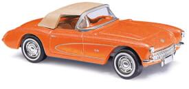 Corvette Cabrio orange