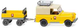 Land Rover mit Anhänger PTT