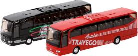 GoKi Reisebus MB Travego aus Spritzguss, 1:60