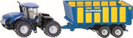 SIKU 1947 FARMER - Traktor mit Silagewagen, 1:50, ab 3 Jahre