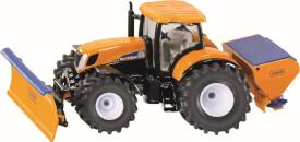 SIKU 2940 Traktor mit Räumschild und Salzstreuer 1:50