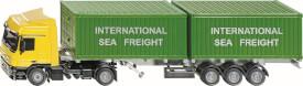SIKU 3921 SUPER - LKW mit Container, 1:50, ab 3 Jahre