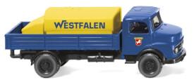 Wiking Pritschen-Lkw mit Aufsatztank (MB) Westfalen