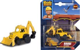 Simba Bob der Baumeister - Baggi, 1:64, ca. 7 cm, ab 3 Jahre.