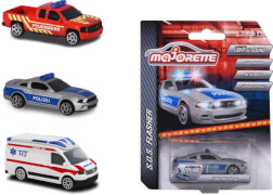 Majorette S.O.S Flashers Assortment, 3-fach sortiert