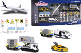 Majorette Big Airport Lufthansa Theme Set