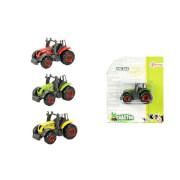 TOITOYS TRACTOR Traktor 7cm Metall, 4-fach sortiert