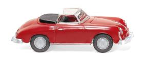 H0 Porsche 356 Cabrio - signalrot 1:87