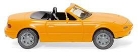 H0 Mazda MX5 - melonengelb 1:87