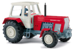 Traktor Fortschritt mit Bäuer