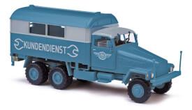 G5Ž56 Koffer, Kundendienst EW