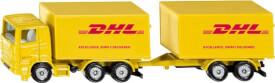 SIKU 1694 LKW mit Anhänger DHL