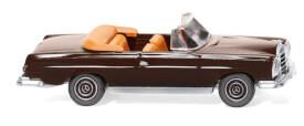 MB 280 SE Cabrio - schokoladenbraun