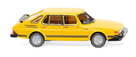 Saab 900 Turbo - verkehrsgelb
