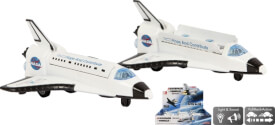 Space Shuttle DieCast 14cm Pullback Antrieb Licht und Sound