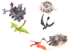 AMIGO 32300 Dreamworks Dragons Battle Pack