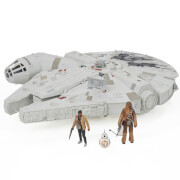 Hasbro Star Wars E7 Battle-Action Millennium Falke