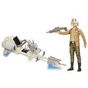 Hasbro Star Wars E7 Ultimate Deluxe Figur mit Fahrzeug