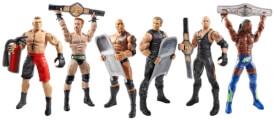 Mattel Double Attack Figuren