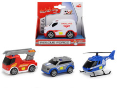 Dickie Rescue Force, 4-fach sortiert