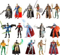 Mattel Batman vs. Superman Basisfiguren, sortiert