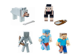 Mattel Minecraft Aktionsfiguren, sortiert