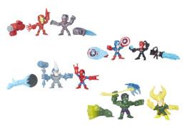 Hasbro Marvel Super Hero Mashers Micro Figuren Doppelpack