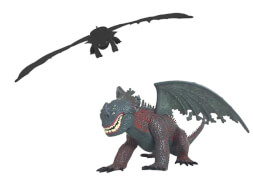 Drachenzähmen leicht gemacht Dreamworks Deluxe Dragons Legacy Battle