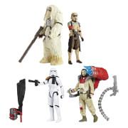 Hasbro B7073EU4 Star Wars Rogue One Battle-Action Basisfiguren 2er-Pack, ca. 10 cm, ab 4 Jahren