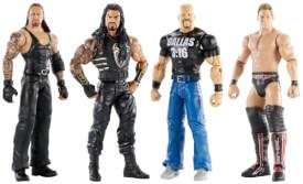 Mattel WWE WrestleMania, sortiert