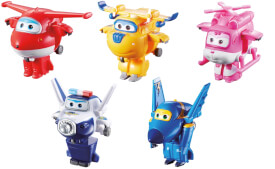 Super Wings Mini Transform-Flugzeuge 5f.sort